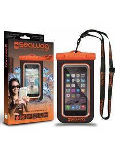Водоустойчив калъф за смартфон SeaWag Waterproof Case for Smartphones Black & Orange