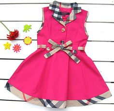 Baby Girls Brand Dress Plaid Summer Kids Dresses Childrens Summer Clothing British Style Princess Party Dresses https://t.co/L2TCLk0CvZ