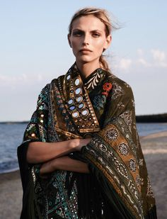 somerollingstone: Karlina Caune by Stefan Heinrichs for Glamour Paris October 2015
