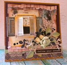 Follow Your Dream - Card - Scrapbook.com
