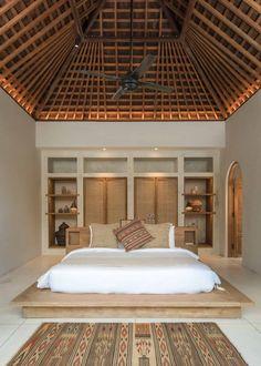 Large Bathroom Mirrors, Large Bathrooms, Bali Bedroom, Home Bedroom, Bedrooms, Bali Style Home, Bali Decor, Resort Interior, Balinese Decor