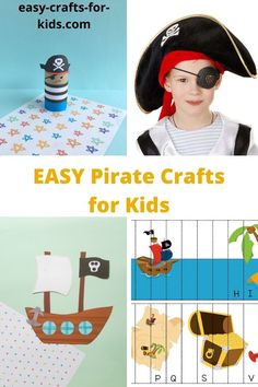 Easy pirate crafts for kids