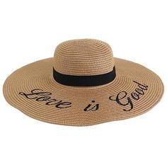 4fecc76661be2c Love is Good Fashion Floppy Hat, monogrammed #accessories #hat  @EtsyMktgTool #monogrammedhat