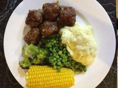 Honey and Tarragon Meatballs recipe