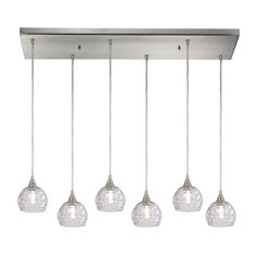 Ventnor 6 Light Kitchen Island Pendant
