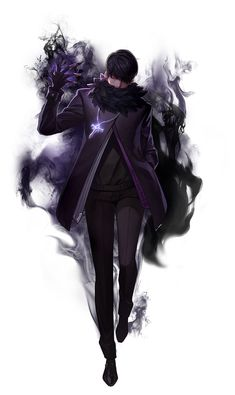 Modern day dark mage, urban fantasy character inspiration