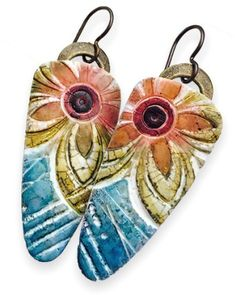 earrings – Page 3 – Polymer Clay Daily - Lorraine Vogel / Wired Orchid