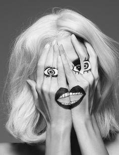 os Achados   Tendência   Olhos   Surrealismo
