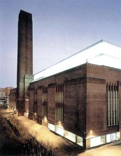 Herzog & De Meuron Arquitetos: Museu Tate Modern, Londres, Inglaterra