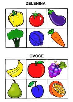 Pro Šíšu: Barvy - auta Preschool Classroom Decor, Preschool Learning Activities, Classroom Design, Nursery Worksheets, Color Games, Food Crafts, Pre School, Fruits And Vegetables, Montessori