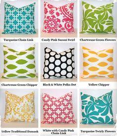 $10 Decorative 18x18 Pillow Covers -   Modest Pillows by Celia Curvêlo