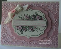 Pink Happiest Birthday by babybluern - Cards and Paper Crafts at Splitcoaststampers