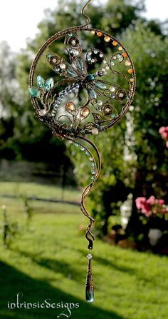 RESERVED.....DRAGONFLY SUNCATCHER with by IntrinsicDesignsArt