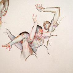 regram @willeys_art Coloring Test.. #sketch #drawing #coloredpencil #art #portrait