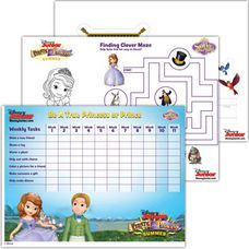 Sofia the First Activity Sheet