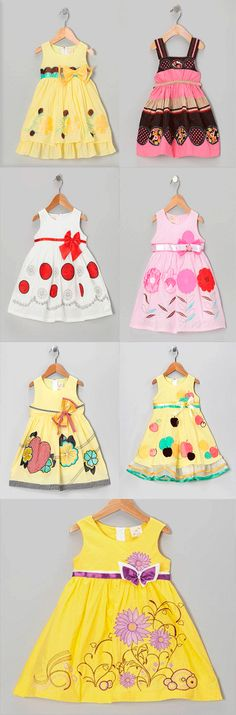 amazing little dresses for girl Little Dresses, Cute Dresses, Girls Dresses, Baby Dresses, 50s Dresses, Elegant Dresses, Baby Girl Fashion, Kids Fashion, Toddler Outfits