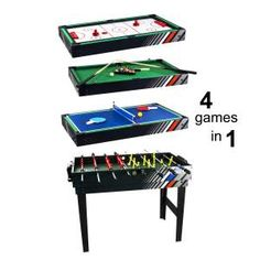 Christmas gift ideas on pinterest game tables 4 in and for 13 in 1 game table