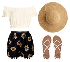 """""""#ootd"""" by solia-horn on Polyvore featuring Billabong and Flora Bella"""