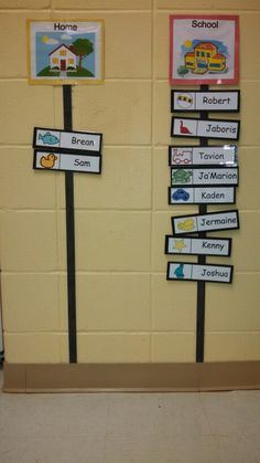 Attendance Chart for Preschool- I will use student pictures