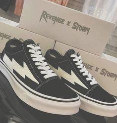 REVENGE X STORM Best Sneakers, Vans Sneakers, Vans Shoes, Shoes Heels, Sock Shoes, Shoe Boots, Sneaker Heels, Dream Shoes, Custom Shoes