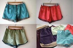 How to make satin shorts