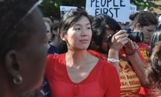"""Meet the extraordinary Ai-jen Poo. She has been the director of the National Domestic Workers Alliance (NDWA) since 2010. She co-founded Domestic Workers United (DWU) in 2000 to mobilize domestic workers and educate them about their rights. """"I feel proud to be a part of a movement that inspires so many people"""". Ai-jen Poo http://www.thextraordinary.org/ai-jen-poo"""