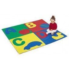 Tumbling Mats: 4 Feet ABC Crawley Mat