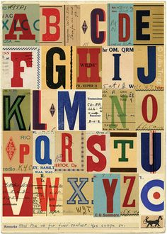 Items similar to Signals no. 2 (A to Z) pop art limited edition print 420 x nursery alphabet art on Etsy Letters And Numbers, Love Letters, Typography Letters, Typography Design, Creative Typography, Vintage Typography, Carta Collage, Typographie Fonts, Abc Letra