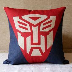 Transformers  Linen pillow Housewares Pillow Pillow by SweetyFairy, $19.90