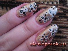 Узоры на ногтях 40 фото идей +пошаговые фото уроки   Ноготок, мои рисунки на ногтях