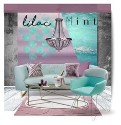 """""""Lilac Mint :: 100516"""" by irafra ❤ liked on Polyvore featuring interior, interiors, interior design, home, home decor, interior decorating, ESPRIT, Nimbus, Artifort and Lakeland"""