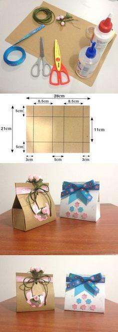 Te enseño a hacer una cajita de regalo muy sencilla. Puedes complementarla y hacer otras ideas de cajitas en otros tutoriales de este canal. Diy Gift Box, Diy Box, Diy Gifts, Handmade Gifts, Handmade Boxes, Diy Paper, Paper Crafts, Origami Box, Simple Gifts