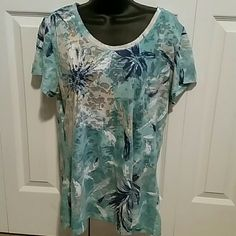 Style & Co sport top xl Very good condition light wear No holes / stains  Can see thru (sheer thin material) Tops Tees - Short Sleeve