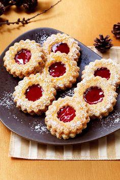 German Christmas Cookies, Xmas Cookies, Christmas Treats, Cake Cookies, Fancy Desserts, No Bake Desserts, Delicious Desserts, Xmas Food, Christmas Cooking