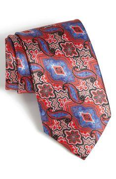 Ermenegildo Zegna Woven Silk Tie  MetalBlazerButtons.com Approved!