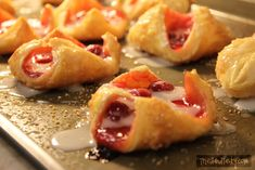 Perfect for breakfast or dessert, the Puff Pastry Cherry Blossoms are a delicious treat. Use puff pastry for these and many other great recipes!