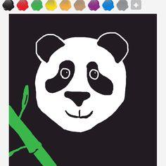 Aww happy panda