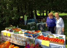From left, Allison Cioffi-Brown, owner of the South Woodstock Country Store, smiles for the camera with South Woodstock resident Beverly Humpstone at the Kedron Valley Inn's new Artisan's Market recently.