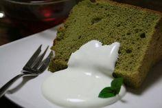 Low-Fat & Fat-Free Green Tea Cake Ingredients  1 3/4 cups white sugar 1 cup cake flour 2 Tbsp green tea powder 1/4 tsp salt 12 egg whites, room temperature 1/3 cup warm water 1 tsp vanilla extract 1 1/2 tsp cream of tartar