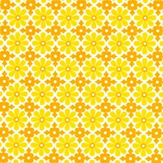 Free Spirit – Snapdaisy 1 - Cotton - ochre yellow