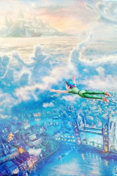 Mickey and Company — Disney Fine Art - Thomas Kinkade phone. Disney Pixar, Animation Disney, Film Disney, Disney And Dreamworks, Disney Cartoons, Disney Love, Disney Magic, Thomas Kinkade Disney, Disney Fine Art