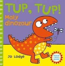 TUP, TUP! Mały dinozaur. Przesuń - baw się - pociągnij - zdjęcie 1