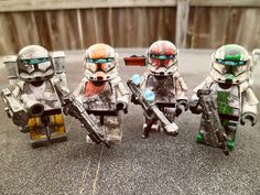 LEGO Minififgure Star Wars Delta Squad #lego #legominfigure #starwars #legostarwars