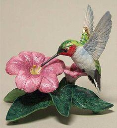 Lenox ChinaGarden Birds Ruby-throated Hummingbird