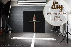 Photographing your Artwork, by Alfredo Tofanelli