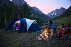 An easy-to-set-up tent for people who camp in large groups.