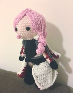 Crochet Lightning Amigurumi Lightning Returns Final by CrochetJP