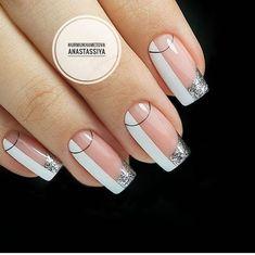 Almond Acrylic Nails, Cute Acrylic Nails, Cute Nails, Pretty Nails, Minimalist Nails, Nail Art Hacks, Perfect Nails, Gorgeous Nails, Pink Nails
