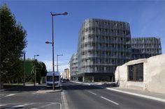 Housings and offices in Sète - France - Sète, Франция - 2011 - Colboc Franzen & associés