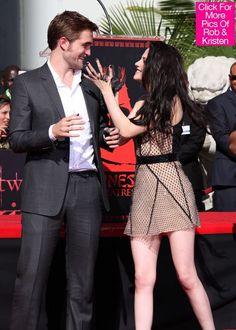 Robert Pattinson and Kristen Stewart Move On